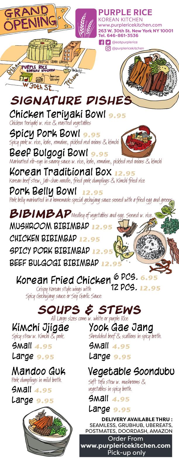Purple-rice-korean-kitchen-in-store-menu-front