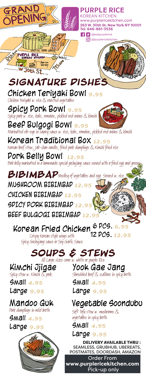 Purple-rice-korean-kitchen-in-store-menu-front