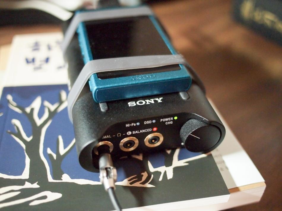 Sony NW-A35 & Sony PHA-3