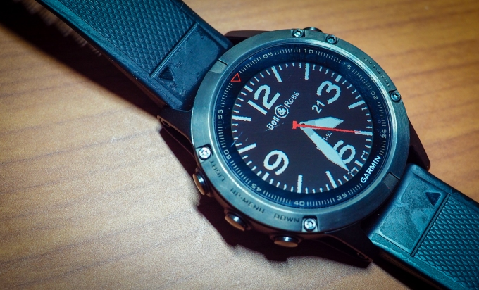 Garmin Watch Face, Bell&Ross