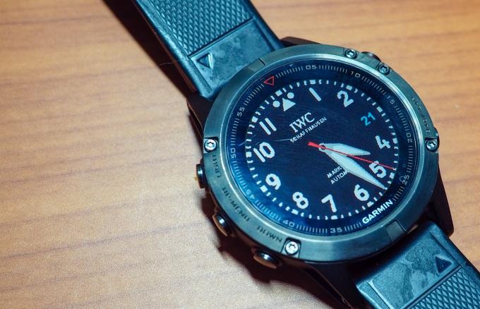 Garmin Watch Face, IWC