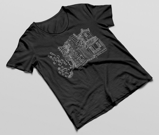 서울 북촌 한옥 마을 티셔츠